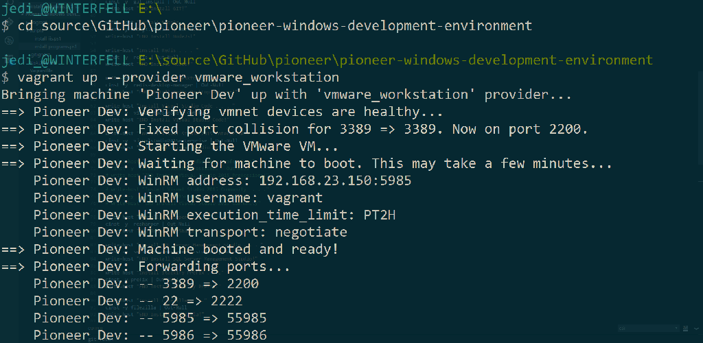 Creating a Windows Development Environment With Packer, Vagrant & Chocolatey.