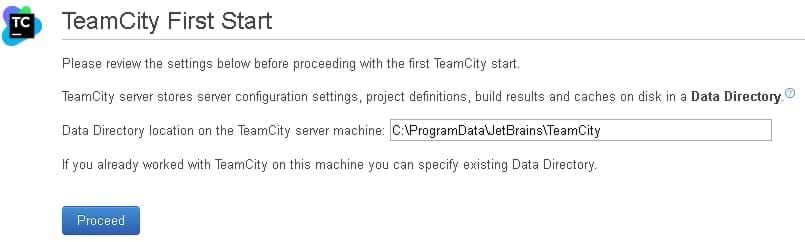 TeamCity Directory