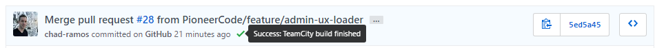 TeamCity Build Status Indicator